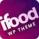 Ifoods-Restaurant And Food WordPress Theme