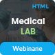 Medical Lab - A Science and Medical Laboratory HTML Template with Vast Options