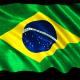 Brazil Flag Loop Animation