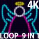 4K Angel V2 VJ 9 in 1