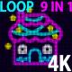4K House V2 VJ 9 in 1