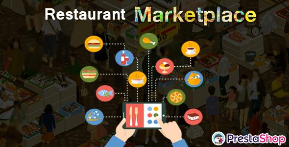 Prestashop Restaurant Marketplace