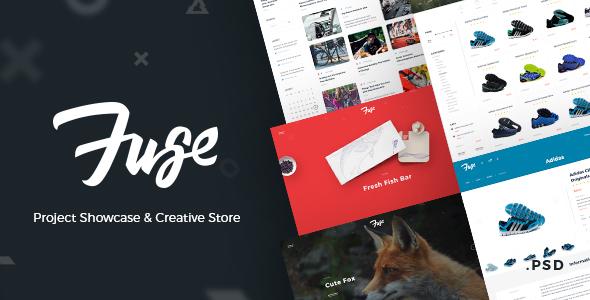 Fuse – Project Showcase & Creative Store
