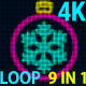 4K Fast Christmas Ball VJ 9 in 1