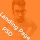 Landing Page / Portfolio PSD Template