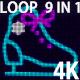 4K Skates VJ 9 in 1