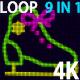 4K Skates V2 VJ 9 in 1