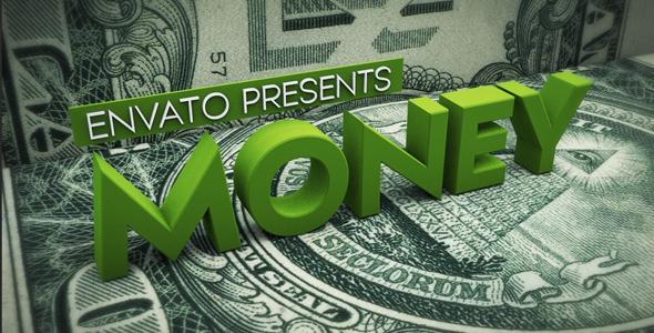 VideoHive Money 3D 19261213