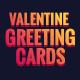 Valentine Greeting Card - 06 PSD [02 Size Each - 7x5 & 5x7]