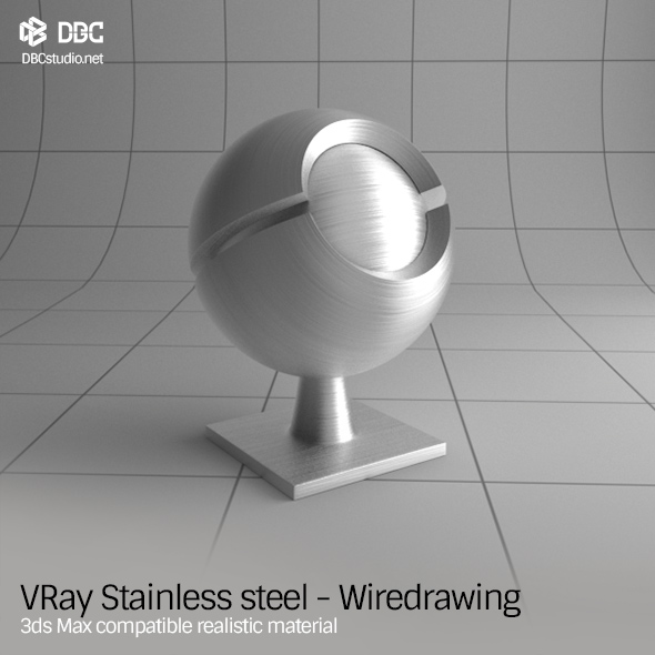 how to make steel material in 3ds max vray