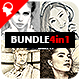 Pencil Sketch - 4in1 Photoshop Actions Bundle V.3