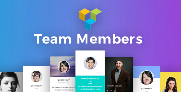Team Members Addons for Visual Composer WordPress Plugin
