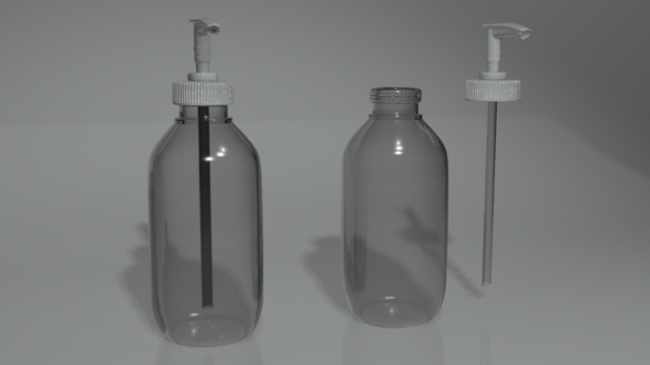 Pump Bottle - 3DOcean Item for Sale