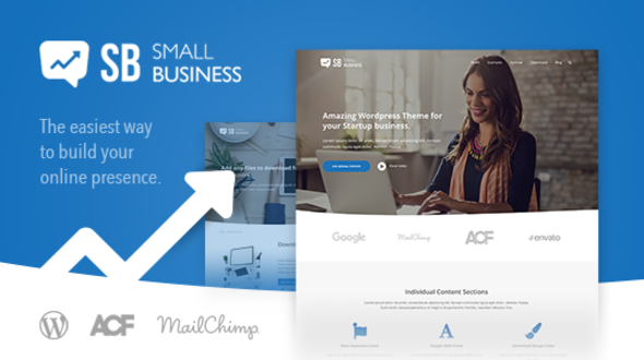 Download Small Business CD - A modern Blog & Website WordPress Theme for Start Up ideas nulled download
