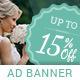 Knot - Wedding PSD Banner Template