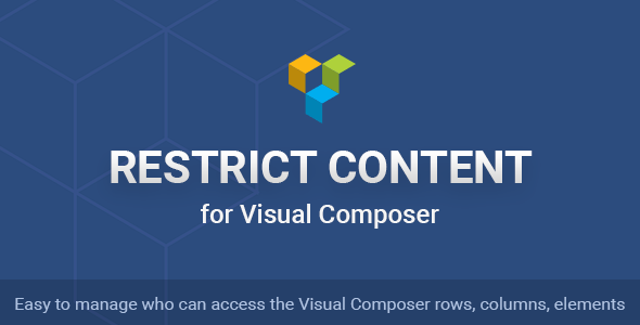 Download Restrict Content for Visual Composer nulled download