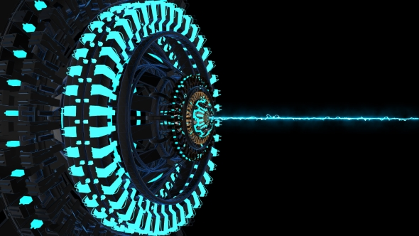 VideoHive Animation Largest Laser Facility 19263089
