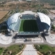Aerial Shot of an Empty Stadium Algarve.