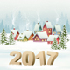 Happy New Year 2017! New Year Design Template Vector