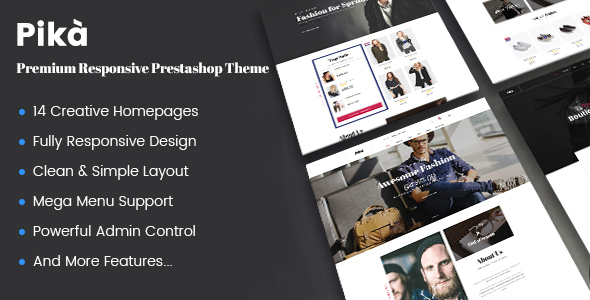 Download JMS Pika - A Premium Multi Concept Prestashop Theme nulled download