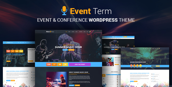Download Event Term- Event & Conference WordPress Theme nulled download