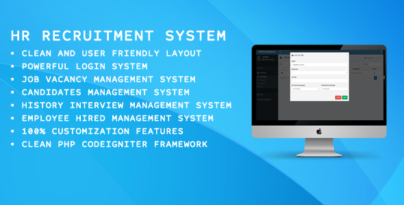 Download HR Recuitment System nulled download