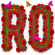 Rose Flowers Text Effect Photoshop Action