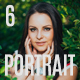 6 Portrait Lightroom Presets