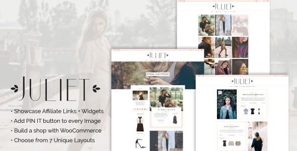 Download Juliet - A Blog & Shop Theme for WordPress nulled download