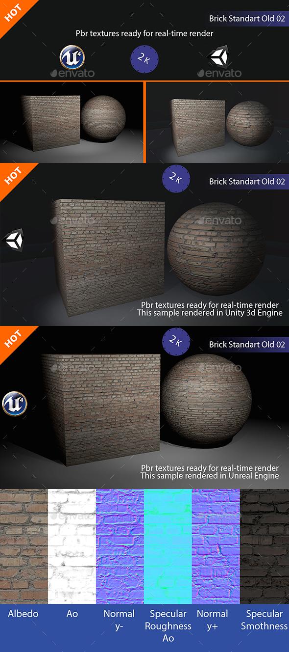 PBR Standart Old 02 Texture - 3DOcean Item for Sale