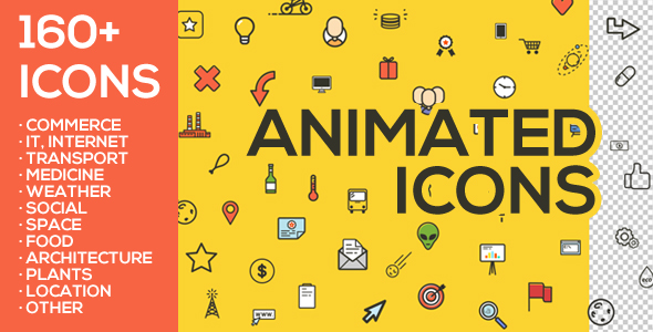 Vector Animated Icons