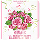 Romantic Valentines Day Flyer