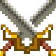 24 Pixel Art Swords
