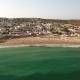 Luz Beach in Summer, Full of Bathers