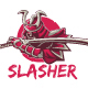 Slasher Logo Template