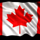 Canada Flag Loop Animation