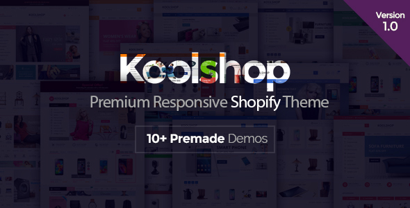 Image of KoolShop - Responsive Shopify Theme