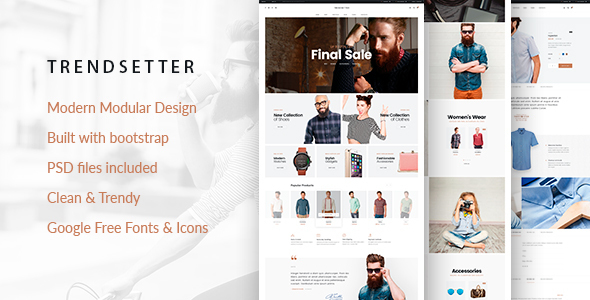 TV Trendsetter- Responsive Magento 2 Fashion  Theme
