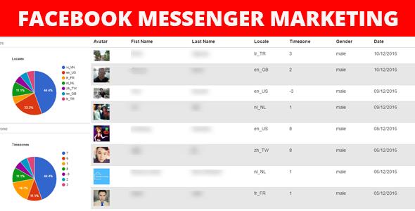 Facebook Messenger Marketing - CodeCanyon Item for Sale
