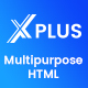 xPlus - Material Design Based Multipurpose HTML5 Template