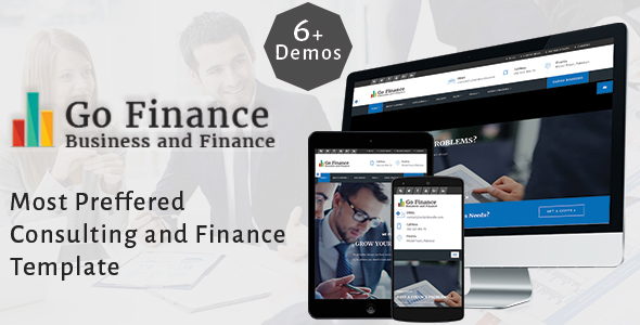Go Finance - Consultant - Business & Finance & Corporate Services Template