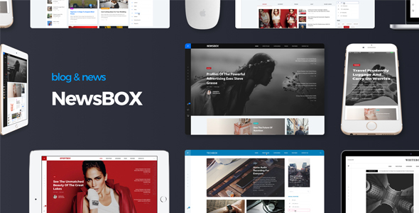 Download Newsbox - Powerful Blog and Magazine theme nulled download