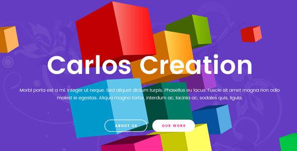 Carlos | Creative Multi-Purpose PSD Template