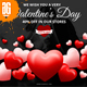 Facebook Ad Banners for Valentines Day