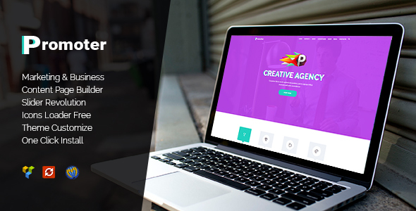 Download Promoter - WordPress Theme nulled download