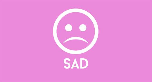 Calm - Sad