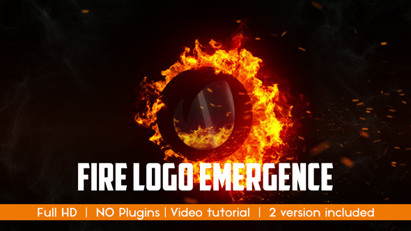 VideoHive Hot Fire Logo 19269941