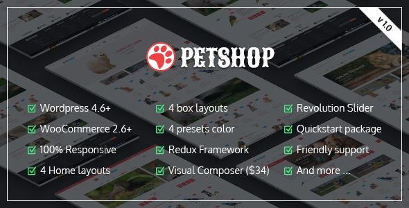 Download VG Petshop - Creative WooCommerce theme for Pets and Vets nulled download