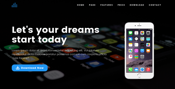 Download Apland - App Landing Page Template nulled download