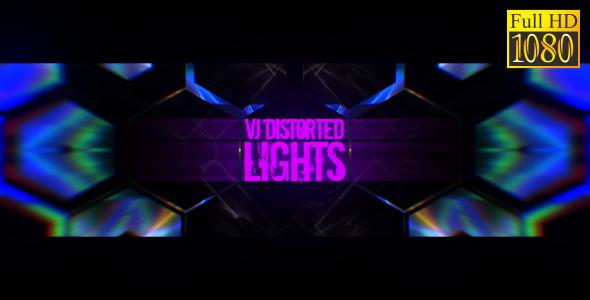 VideoHive VJ Distorted Lights Set 8 19270951